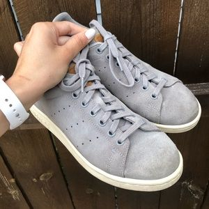 Gray Suede Stan Smith